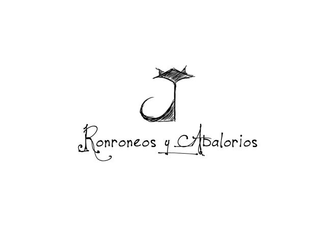 ronroneos y abalorios logotipo