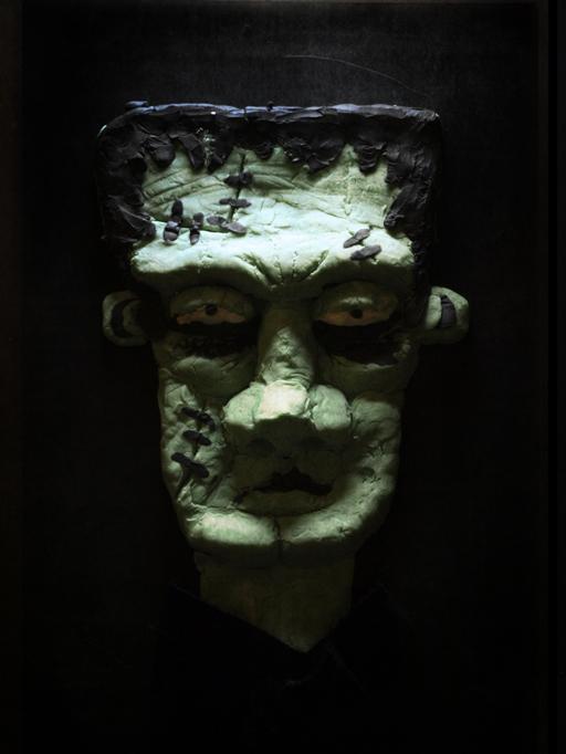 ilustracion frankenstein plastilina