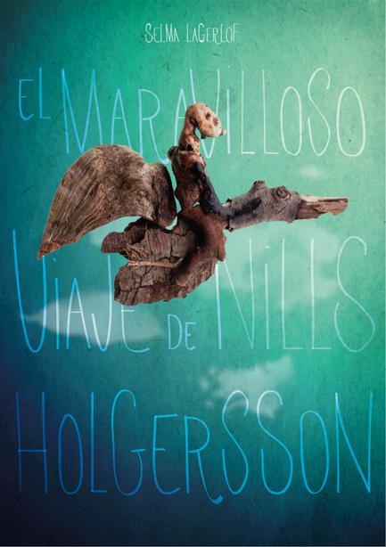 Diseño cubierta libro nils holgersson