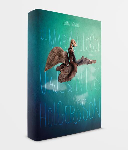 marina eiro diseño cubierta libro el maravilloso viaje de nills holgersson