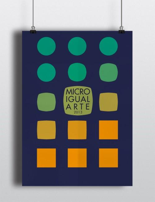 marina eiro diseño poster ilustre colegio abogados oviedo microigualarte