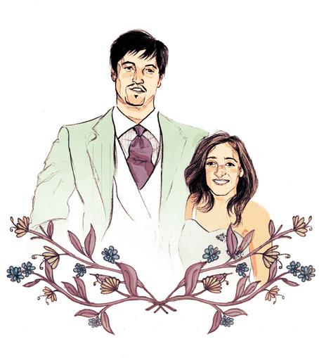 marina eiro invitacion de boda personalizada