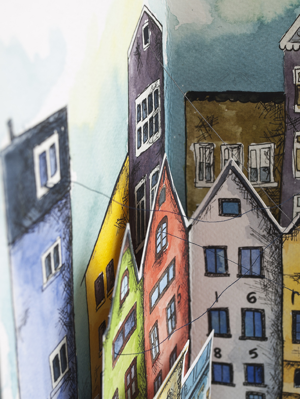 libro artista ilustracion ciudades invisibles